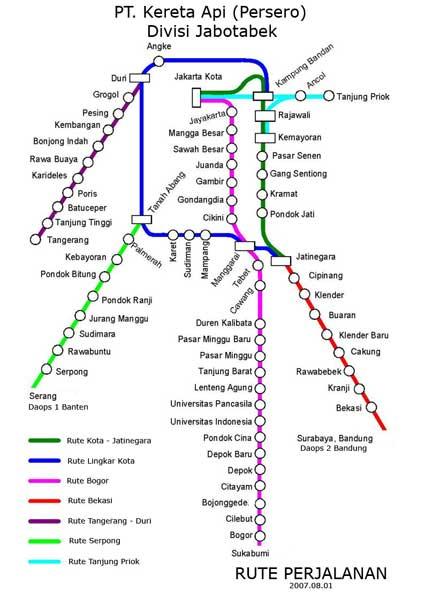 KRL Routes