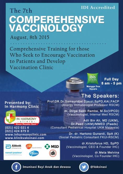 The 7th Comprehensive Vaccinology 2015